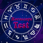 Horoscope Test game