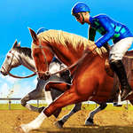 Giochi di corse di cavalli 2020 Derby Riding Race 3d