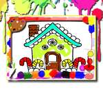 House Coloring Book game