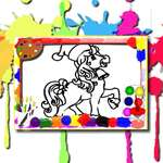 Horse Coloring Book game