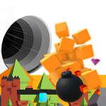 Loch gegen Bomben Spiel