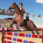 Horse Jumping Show 3D jeu