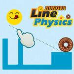 Línea hambrienta física juego