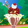 Fagylalt fagylaltkehely játék