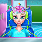 Ice Queen Brain Doctor game