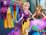 Limpieza de vestuario de Ice Kingdom juego