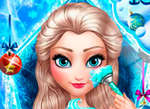 Ice Queen New Year Makeover game