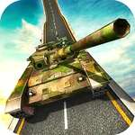 Unmögliche Armee Tank Driving Simulator Tracks Spiel