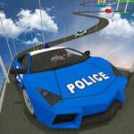 Lehetetlen rendőrautó pálya 3D 2020 játék
