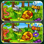 Insects Photo Differences game