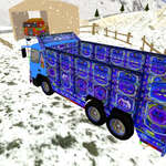 Indiai cargo truck vezető játék