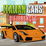 Italian Cars Differences game