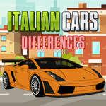 Olasz autók különbségek játék