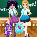 Súťaž dizajnu školských tašok Jacqueline a Eliza hra