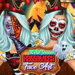Jenner Halloween Face Art juego