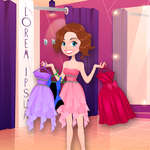 Julie Dress Up game