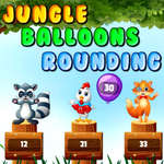 Jungle Balloons Rounding game