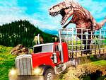 Jurassic Dino Transport Truck game