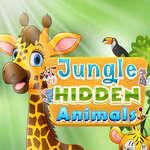джунглата скрити животни игра