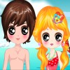 Kawaii Lover Beach Dressup game