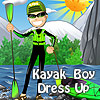 Kayak Boy Dress Up game