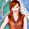 Katie Cassidy trendy dress up game
