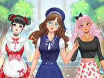 Kawaii High School Teacher Dress Up game