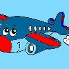Kids Coloring Airplane game