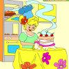Çocuklar Amazing pasta boyama oyunu