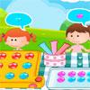 Gyerekek édes csokoládé játék