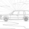 Детски картинки за BMW игра