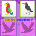 Kids Memory with Birds game