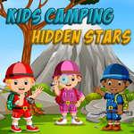 Gyerekek Kemping Rejtett Csillag játék