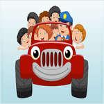 Детски превозни средства памет игра