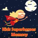 Kids Superheroes Memory game