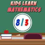 Los niños aprenden matemáticas juego