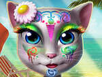Maquillaje Kitty Beach juego