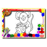 Kids Cartoon Coloring Book game