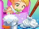 Детско почистване игра
