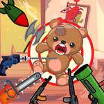 Kick The Teddy Bear game