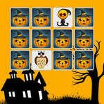 Kids Memory Game Halloween