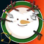 Kick Om de zăpadă Xmas joc