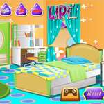 Детски Спалня Декорация игра