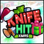 Knife Hit Xmas game