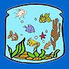 Fener n boyama balıklar oyunu