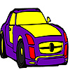 Latest model car coloring game