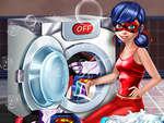 Katicabogár mosás jelmezek játék