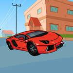 Lamborghini Carte de colorat joc