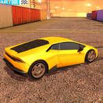 Lambo Araba Simülatörü oyunu
