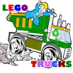 Lego Trucks Coloring game